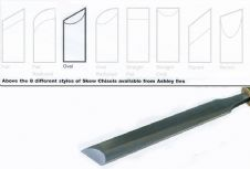 Oval Section Skew Chisels